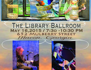 May 16th at The Library Ballroom