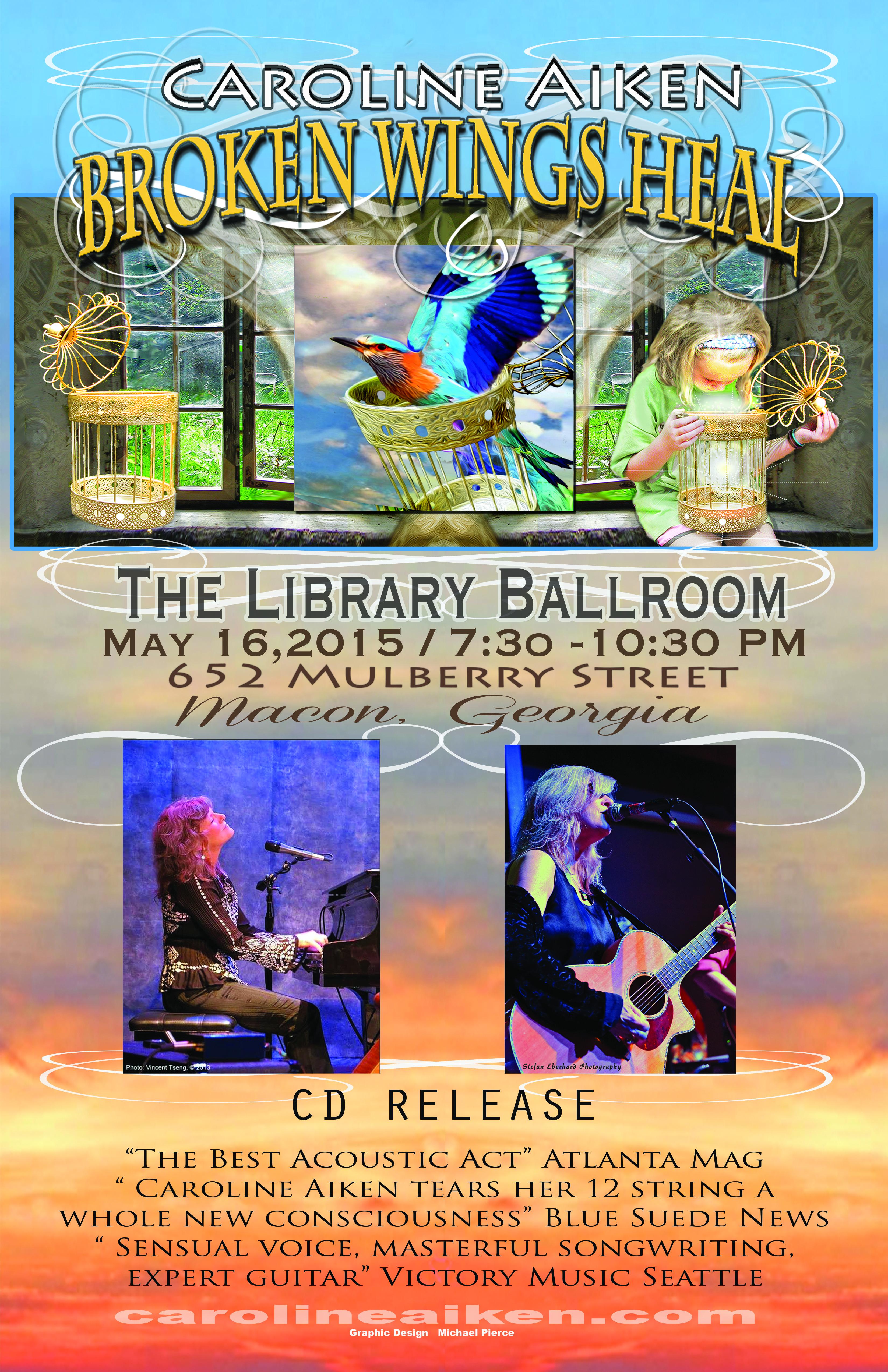 May 16th at The Library Ballroom