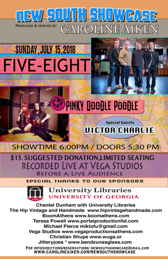 New South Showcase presents: Five-Eight and Pinky Doodle Poodle on Sunday, July 15, 2018