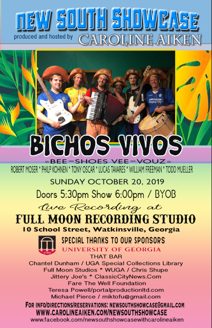 NSS Poster featuring Bichos Vivos Oct 20 2019